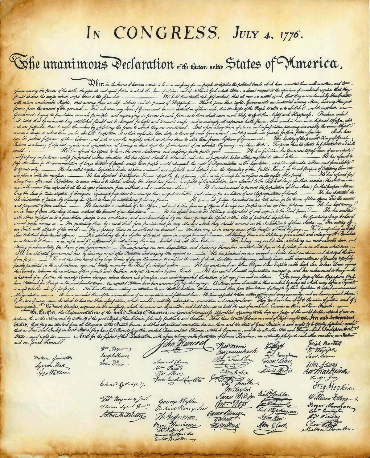 U.S.-Declaration-Reproduction-Image