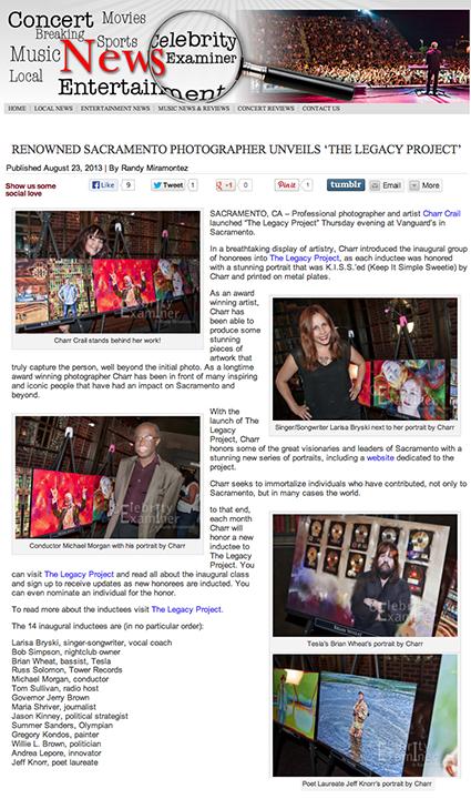 celebrityexaminer.com August 23, 2013