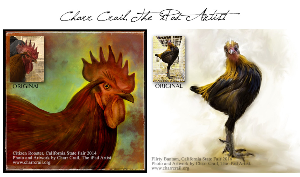 charr-crail-rooster-bantam-duo
